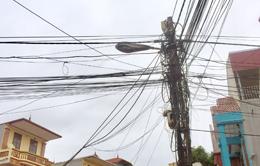 """""""Ma trận"""" dây điện, cáp quang: Nan giải việc xử lý dứt điểm"""