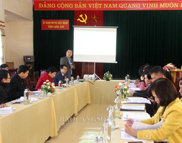 Góp ý Đồ án quy hoạch xây dựng Khu du lịch quốc gia Mẫu Sơn