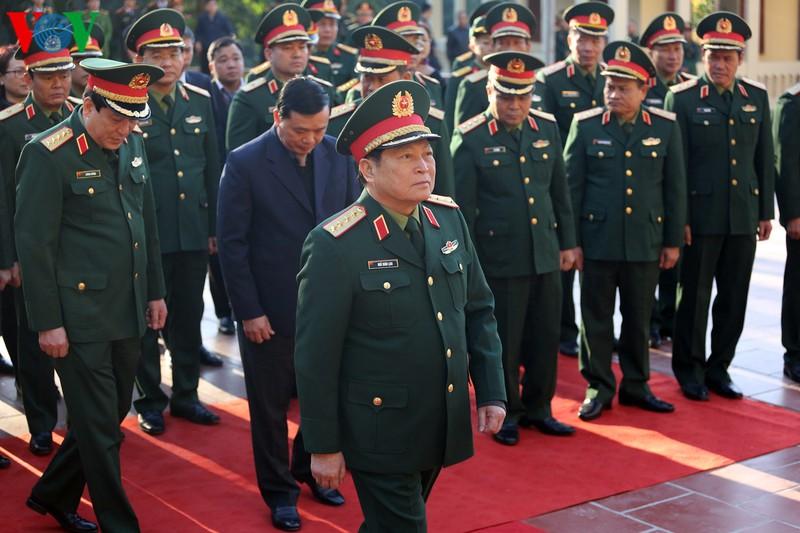 Bộ trưởng Ngô Xuân Lịch thăm nơi thành lập Quân đội Nhân dân Việt Nam