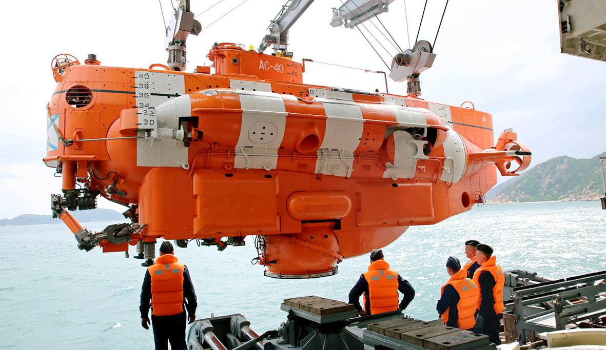 Hải quân Việt Nam- Hải quân Liên bang Nga: Luyện tập cứu hộ, cứu nạn tàu ngầm