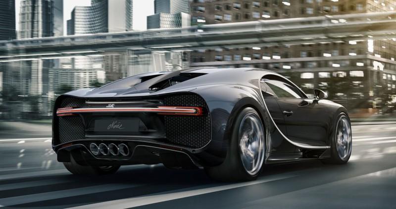 "Bugatti Chiron Noire - Chiếc Chiron ""đen"" nhất của Bugatti"