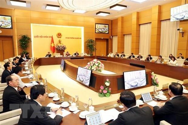 Ngày mai khai mạc phiên họp thứ 40 của Ủy ban Thường vụ Quốc hội