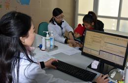 Bệnh viện Đa khoa tỉnh tiên phong ứng dụng công nghệ thông tin trong khám, chữa bệnh