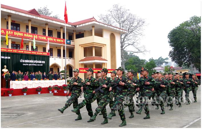 Thực hiện tốt công tác quốc phòng, quân sự địa phương