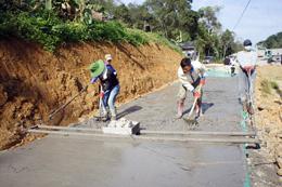 Tràng Định: Vượt khó phát triển giao thông nông thôn