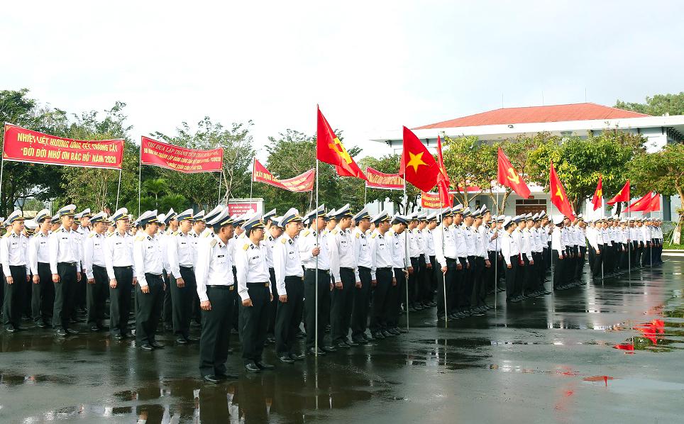 Vùng 3 Hải quân phát động đợt thi đua cao điểm