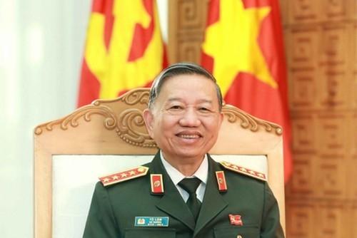 Đại tướng Tô Lâm gửi thư chúc mừng Năm mới lực lượng CAND