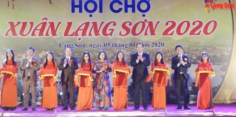 Khai mạc Hội chợ Xuân Lạng Sơn năm 2020
