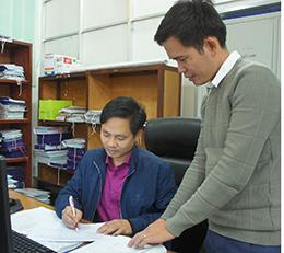 Chi bộ Phòng Kinh tế - Hạ tầng huyện Văn Lãng:  Học Bác hết lòng vì công việc