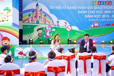 Toyota góp phần tổ chức giáo dục kĩ năng tham gia giao thông an toàn cho học sinh tiểu học