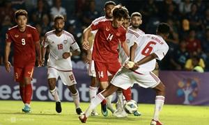 U23 Việt Nam-U23 UAE chia điểm trận ra quân