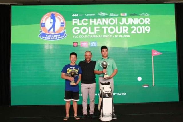 Nguyễn Đặng Minh vô địch mùa golf trẻ 2019