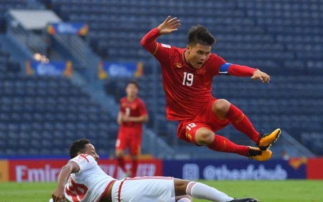 Quang Hải quyết thắng U23 Jordan