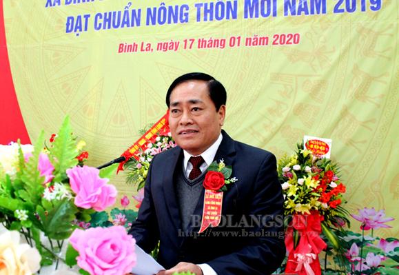 Xã Bình La đón bằng công nhận xã đạt chuẩn nông thôn mới