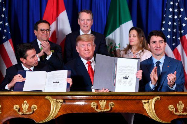 Thượng viện Mỹ phê chuẩn Hiệp định thương mại giữa Mỹ, Mexico, Canada