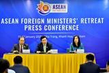 Tuyên bố báo chí của Chủ tịch Hội nghị hẹp Bộ trưởng Ngoại giao ASEAN