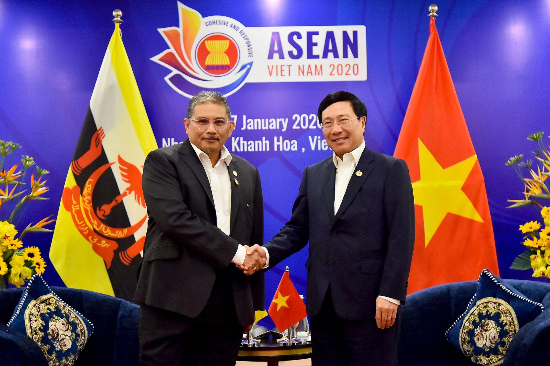 Việt Nam, Brunei nhất trí tiếp tục thúc đẩy quan hệ đối tác toàn diện