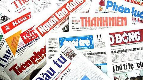 Đề nghị 2 báo dừng hoạt động xuất bản để thực hiện quy hoạch báo chí