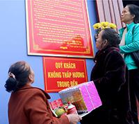 Nâng cao ý thức của người dân khi đi lễ đền, chùa