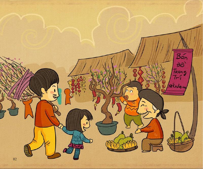 Chợ Tết - Nơi lưu giữ những kỷ niệm tuổi thơ