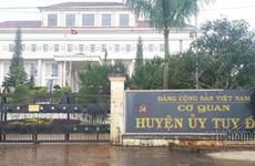 Tỉnh Đắk Nông thi hành kỷ luật 3 cán bộ tại huyện Tuy Đức