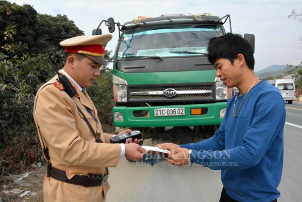 Lạng Sơn: 7 ngày nghỉ tết, trật tự an toàn giao thông được đảm bảo