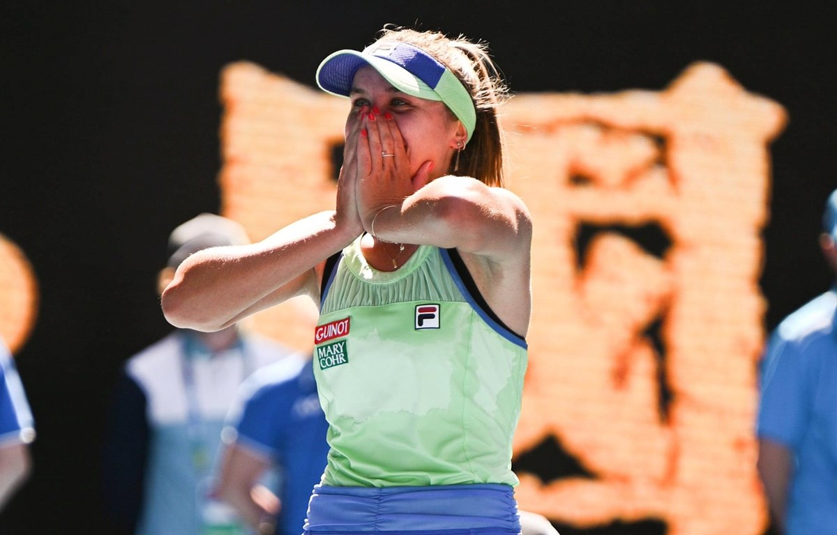Hạ số 1 thế giới, Kenin đối đầu Muguruza ở chung kết Australian Open