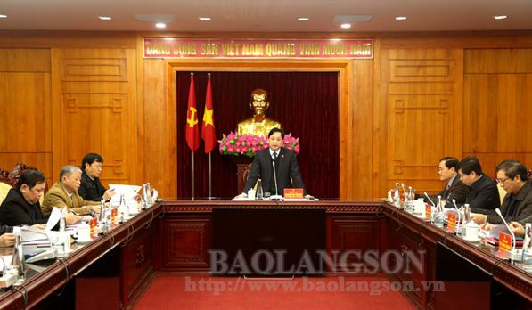 Góp ý vào Dự thảo Báo cáo Chính trị trình Đại hội Đảng bộ tỉnh