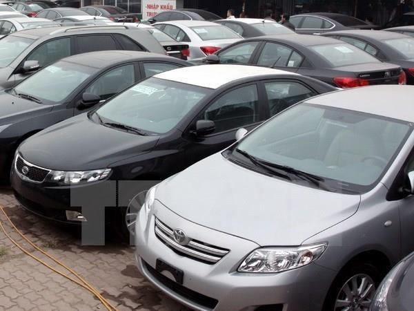 Quy định đấu giá hạn ngạch thuế quan nhập khẩu ôtô đã qua sử dụng