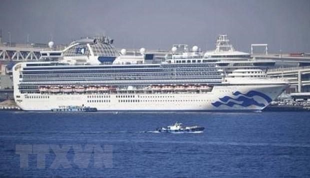 Đã có 355 trường hợp nhiễm virus trên du thuyền Diamond Princess