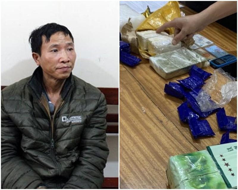 Bắt kẻ vận chuyển số lượng lớn ma túy trên Quốc lộ 48
