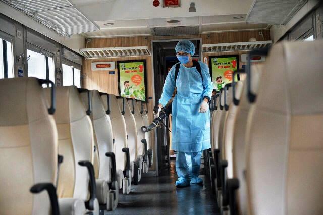 Đường sắt hủy 78 chuyến tàu khách do dịch Covid-19