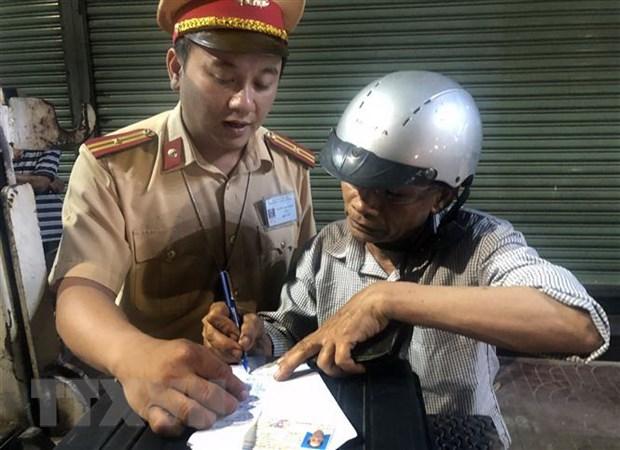 Thí điểm nộp phạt vi phạm giao thông qua Cổng dịch vụ công quốc gia