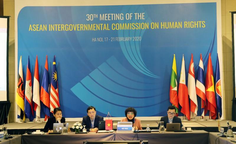 ASEAN đánh giá cao Việt Nam tổ chức, điều hành AICHR lần thứ 30