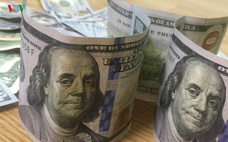 Tỷ giá USD tăng so với các đồng tiền chủ chốt
