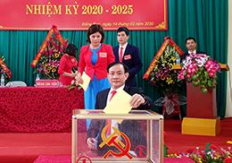 Lộc Bình tích cực chuẩn bị đại hội đảng bộ các cấp