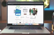 Dịch COVID-19 đang thúc đẩy doanh số bán trực tuyến tại Mỹ