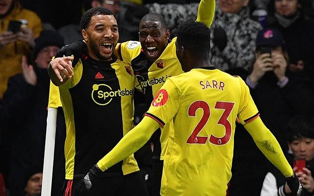 """Watford gây """"địa chấn"""", thắng Liverpool 3-0"""