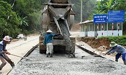 Xây dựng thôn đạt chuẩn nông thôn mới: Nỗ lực ở Văn Lãng