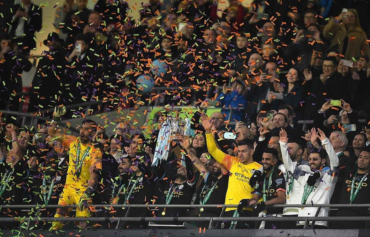 Hạ Aston Villa, Man City lần thứ 7 giành chức vô địch League Cup