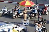 Tăng cường xử lý vi phạm bảo đảm trật tự, an toàn giao thông