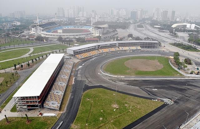 Giữ nguyên giá trị vé xem chặng đua F1 tại Hà Nội