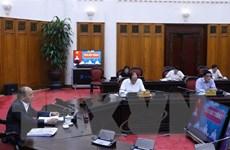 Thủ tướng Nguyễn Xuân Phúc làm việc trực tuyến với tỉnh Sóc Trăng
