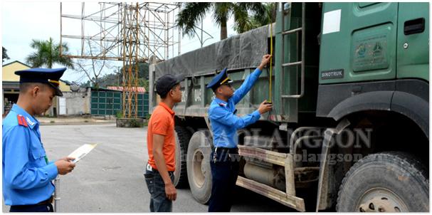 Tăng cường kiểm soát tải trọng xe