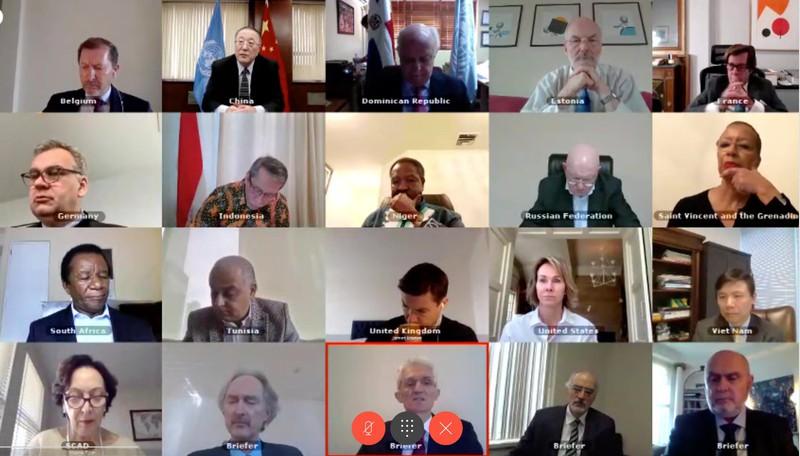 Hội đồng Bảo an lo ngại tác động của Covid-19 tới tình hình tại Syria