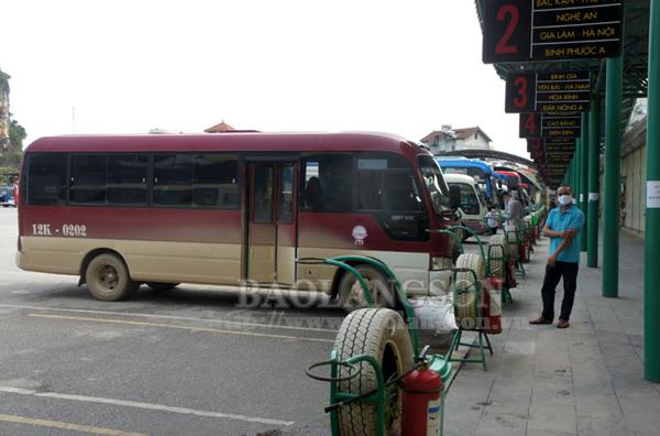 Lạng Sơn: Tạm dừng tất cả các tuyến vận tải hành khách nội tỉnh và liên tỉnh
