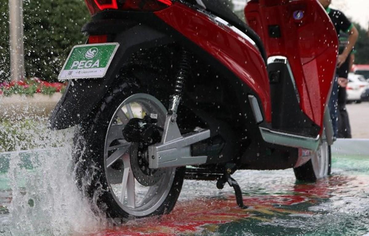 Công ty PEGA bất ngờ đổi tên xe máy điện eSH thành ESP