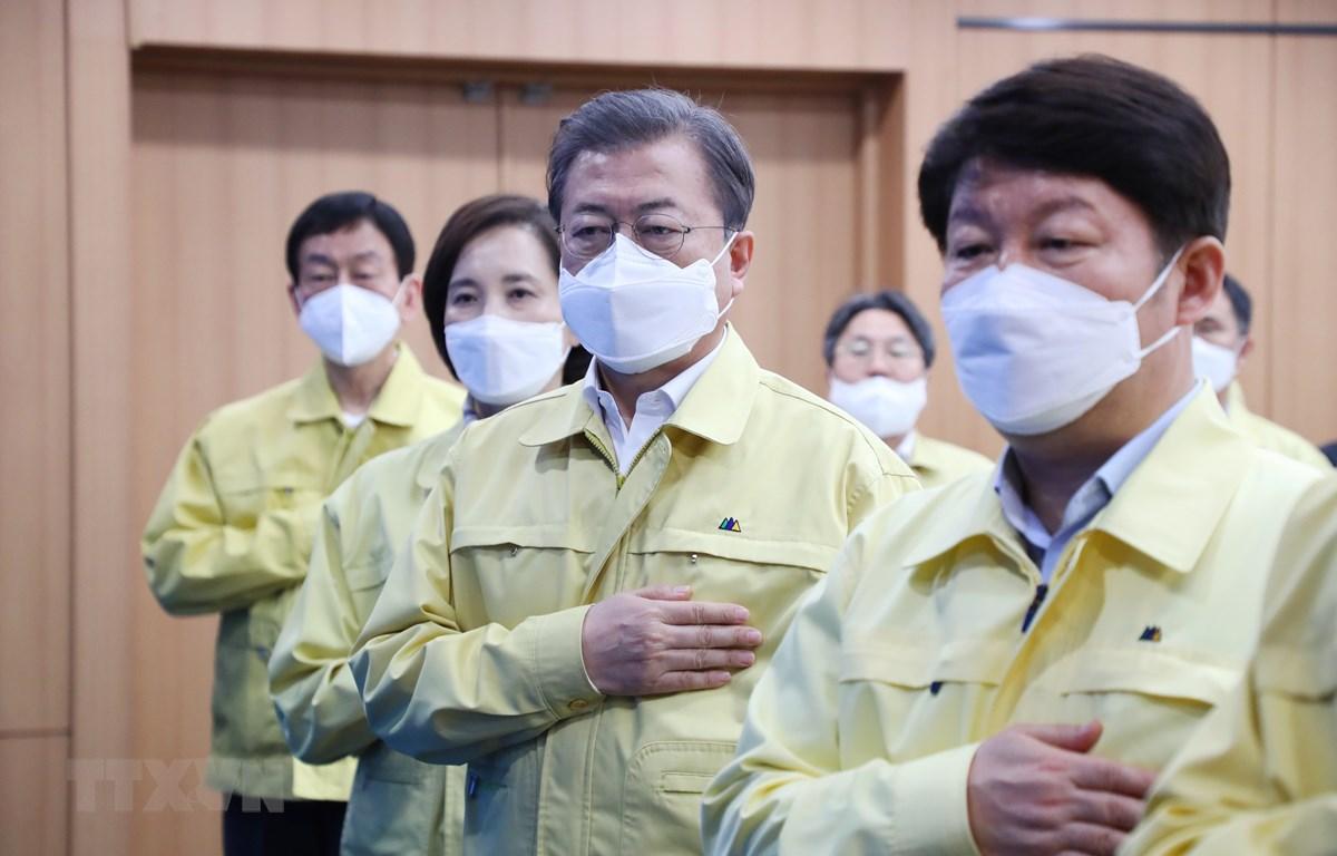 Tỷ lệ ủng hộ Tổng thống Hàn Quốc Moon Jae-in tiếp tục tăng cao