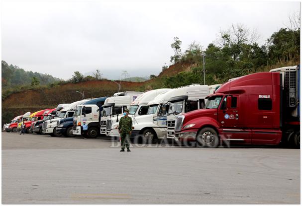 Trung Quốc siết chặt quản lý hàng hóa xuất nhập khẩu qua các cửa khẩu trên địa bàn tỉnh Lạng Sơn