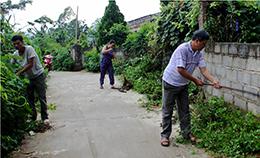 Xây dựng nông thôn mới: Chung tay thực hiện tiêu chí môi trường